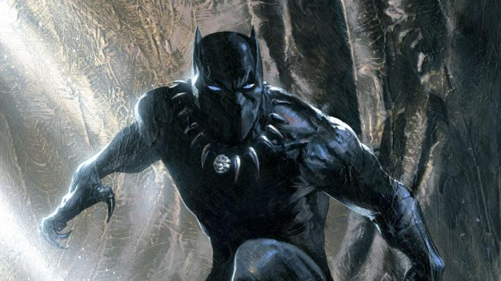 Black Panther in Human Form